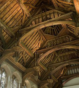 Great Hall roof of Eltham Palace